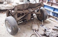 Задняя часть старого наградного автомобиля класса Стоковое фото RF