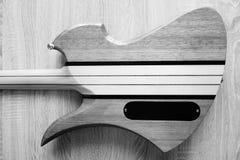 Задняя часть электрической гитары Стоковое Изображение RF