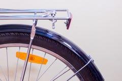 Задняя часть Bycycle с шкафом Стоковая Фотография