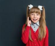 задняя школа девушки к Стоковое Фото