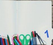задняя школа к Справочная информация поставкы школы различные стоковые изображения