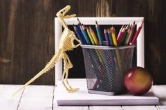 задняя школа принципиальной схемы к Стоковые Изображения RF