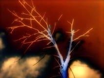 за облаками Стоковые Изображения RF