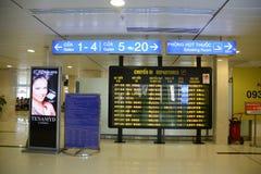 Зал ожидания на авиапорте Nhat сына Tan, Вьетнаме стоковое фото