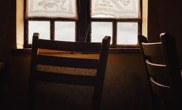 за окном Стоковые Фотографии RF