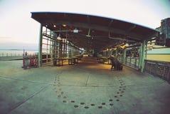 За открытым рынком в Сиэтл стоковые фотографии rf
