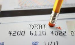 Задолженность кредита Стоковые Изображения
