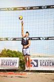 залп спорта charactetrs шаржа пляжа смешной Итальянская лига лета стоковое изображение rf