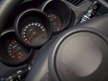 за рулевым колесом Стоковая Фотография RF
