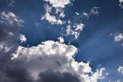 за солнцем облака Стоковая Фотография RF