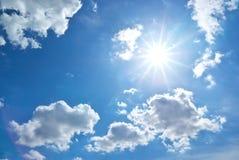 за солнцем облака Стоковое Изображение RF