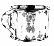 Залуживайте чашку Стоковые Фотографии RF