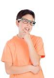 Задумчивый мальчик подростка 13 Стоковые Изображения RF