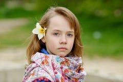 задумчивый портрет Стоковая Фотография RF