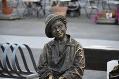 Задушевная утеха ребенка Стоковое Фото