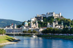 Зальцбург Австрия Стоковое Изображение RF