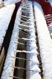 за plough фермы оборудования старым вытягивая тропку трактора Стоковые Изображения