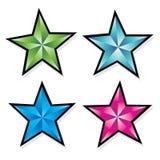 Звезда бумаги Стоковые Изображения