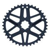 Звезда велосипеда изолированная на белизне иллюстрация вектора