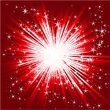 звезда взрыва конспекта Стоковое Изображение RF