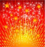 звезда взрыва предпосылки Стоковое Фото