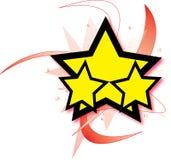 звезда взрыва Стоковые Изображения RF
