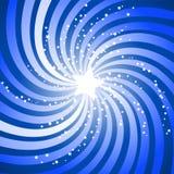 звезда взрыва Стоковое фото RF