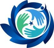 Звезда вручает логотип Стоковая Фотография RF