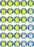 звезда высокия темпа Стоковая Фотография RF