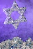 звезда Давида серебряная Стоковые Фото