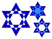 звезда Давида собрания Стоковое фото RF