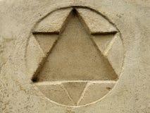 звезда Давида Стоковые Фото