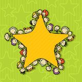 Звезда детей Стоковые Изображения
