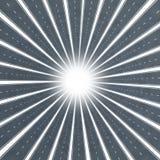 звезда дороги взрыва иллюстрация штока
