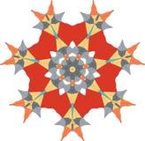 звезда иллюстрации праздника Стоковое Изображение RF