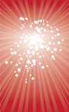 звезда иллюстрации рождества карточки Стоковое Изображение