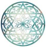 звезда конструкции Давида Стоковые Фотографии RF