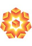 звезда кубика Стоковые Фото