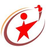звезда логоса иллюстрация штока