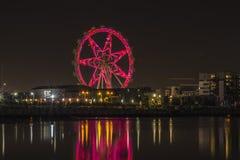 Звезда Мельбурна освещает отражение на воде Стоковые Изображения RF