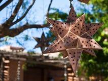 звезда металла ржавая Стоковое Изображение