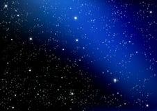 Звезда на темноте Стоковая Фотография RF