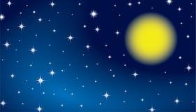 звезда неба предпосылки Стоковые Фотографии RF