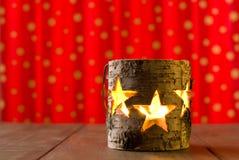 звезда опарника держателя для свечи Стоковая Фотография RF