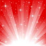 звезда поля взрыва Стоковое Изображение