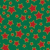 звезда предпосылки безшовная Стоковая Фотография