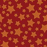 звезда предпосылки безшовная Стоковые Фото