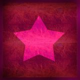 звезда предпосылки розовая иллюстрация штока