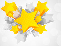 звезда предпосылки 3d иллюстрация штока