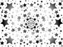 звезда предпосылки Стоковые Изображения